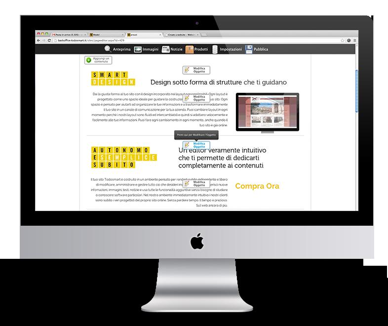 Sito internet professionale di design mobile responsive for Sito mobili online